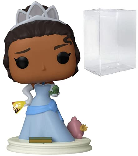 Funko Pop! Disney: Ultimate Princess - Tiana - Figura in vinile (include custodia protettiva compatibile per pop box)