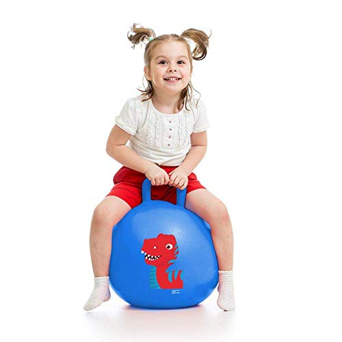 Storio Sit and Bounce Rubber Hop Ball for Boys Girls Toys | Balls for Kids (Multicolour)