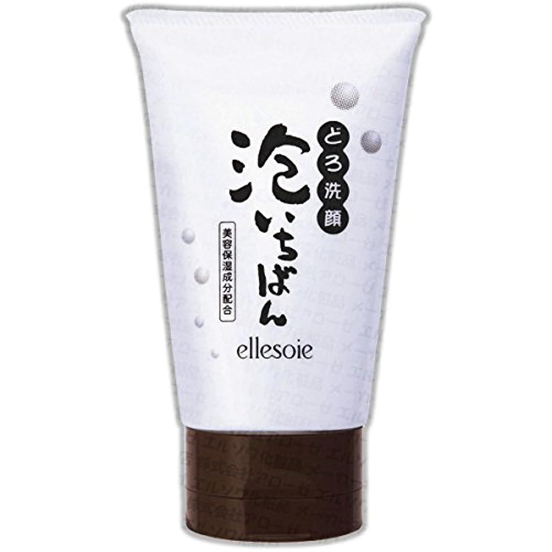 体同化ジャーナルエルソワ化粧品(ellesoie) どろ洗顔 泡いちばん チューブ容器120g