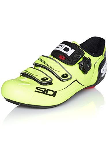SIDI Scarpe da Ciclismo Alba Giallo Fluorescent-Nero (EU 42.5, Giallo)