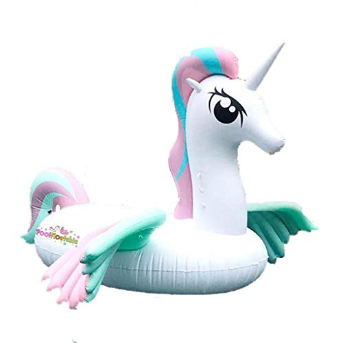 Unicorn Inflatable Pool Float - Inflatable Floating Bed, Best Swimming Pool Inflatable Float for Adults and Kids