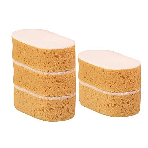 Juego de 10 esponjas de limpieza para vajilla, esponjas de limpieza, esponjas de lavado de coche, multiusos y prácticas, accesorios de lavado para coches, salas de baño y cocinas
