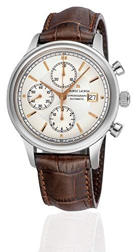 MAURICE LACROIX Cronografo automatico svizzero Les Classiques LC6158-SS001-130-1