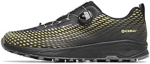 Icebug NewRun RB9 GTX Laufschuhe Herren Black/Poison Schuhgröße US 12,5 | EU 46,5 2021 Laufsport Schuhe