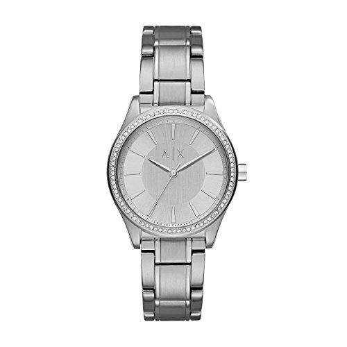Armani Exchange Reloj para Mujer de Cuarzo con Correa en Acero Inoxidable AX5440