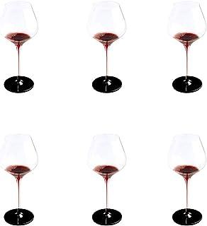 CYHT Verres à vin Verres de vin Rouge Exquis Ensemble de cuillères à vin Grand gobelet Idéal pour la verrerie de Patio 700ml