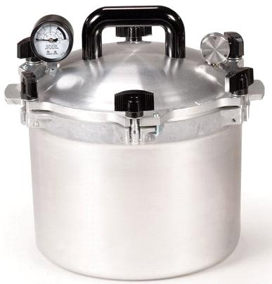 All American 10.5 Quart Pressure Cooker by All American