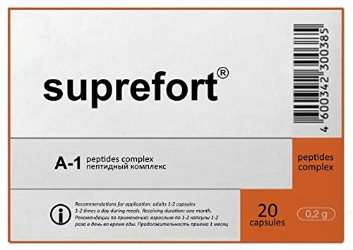 Suprefort-Pankreasextrakt - 20 Kapseln pro Packung