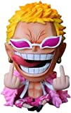 One Piece Doflamingo Lindo Sentado despreciar Ver. PVC Op Donquixote Luffy Fighter Figura de Anime Figuras de acción Modelo de Personaje de Anime 11CM