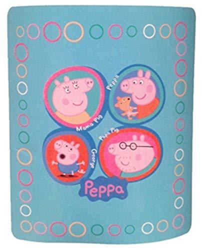Peppa varken Mama Papa George familie knuffelig fleece deken