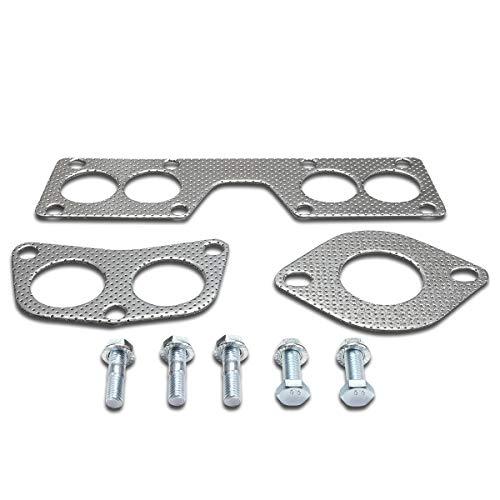 DNA MOTORING GKTSET-NS0018L Aluminum Exhaust Manifold Header Gasket Set...