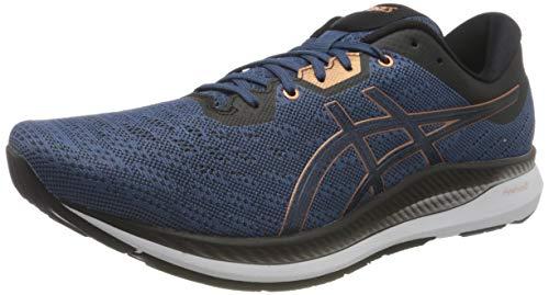 ASICS 1011A792-400_48, Zapatillas de Running Hombre, Bleu Ardoise Gris, EU