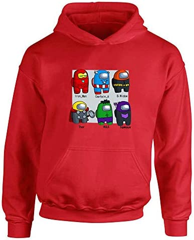 Unisex Kids Hoodie Sweatshirt Boys Girls Funny Printed Pullover Hoody Fashion Children Game Top