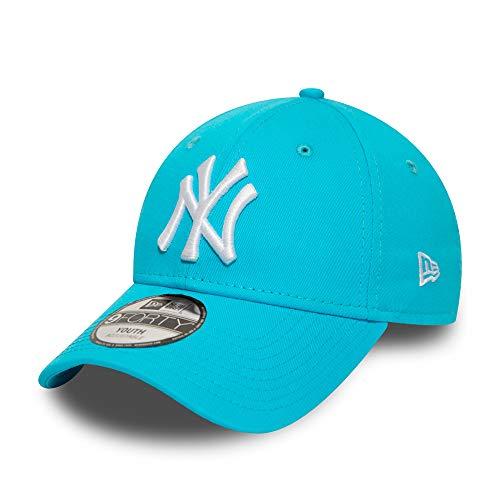 New Era New York Yankees MLB Cap New Era Verstellbar Kinder 9forty Baseball Kappe Blau Weiss - Youth