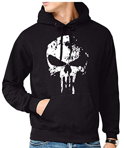 The Fan Tee Sudadera de Hombre Punisher Castigador Comic 006 M