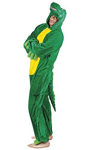 Boland - CS921697/L - Costume peluche crocodile taille l max 195cm