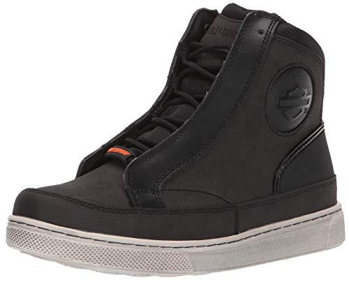 HARLEY-DAVIDSON FOOTWEAR Women's Vardon Sneaker, Black, 08.0 M US