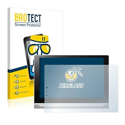 brotect Pellicola Protettiva Vetro Compatibile con Lenovo Yoga Tablet 2 10.1 2-1050L Schermo Protezione, Estrema Durezza 9H, Anti-Impronte, AirGlass