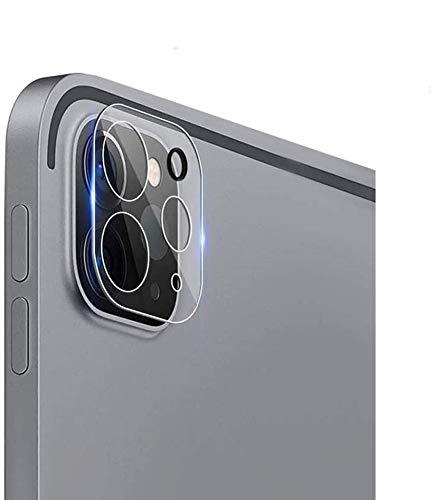 Aerku Kamera Panzerglas Schutzfolie für iPad Pro 12.9 / iPad Pro 11 (2020), [Vollständige Abdeckung] Kamera Panzerglasfolie Bildschirmfolie [2 Stück] 9H Festigkeit HD Transparenz Anti-Kratzen Protector