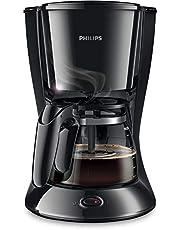 Philips New Daily kahve makinesi aroma-Swirl otomatik kapanma, cam sürahi