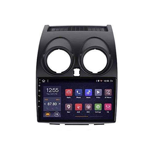 Radio estéreo para automóvil Android Sat Nav para Nissan Qashqai 2006-2013 Unidad principal Internet Multimedia con navegación GPS Reproductor de video Bluetooth Pantalla táctil Wifi SWC DAB, 4 Core