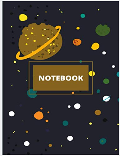 Planets notebook: Dimensions: 8.5