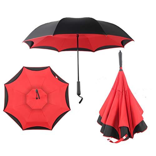 Rayon de Soleil /à Double Couche en C et /à lenvers Parapluie /à lenvers Beautyjourney Beautiful Flower Anti-UV