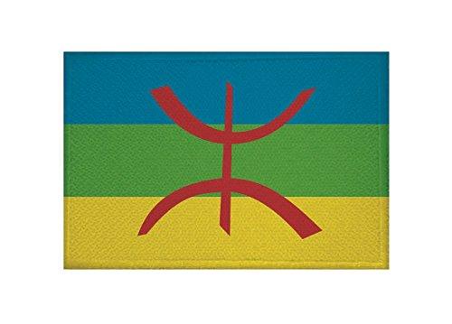 U24 applicatie Berber vlag opstrijkapplicatie 9 x 6 cm