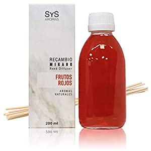 Laboratorio SyS Recambio de Ambientador Mikado Frutos Rojos - 200 ml