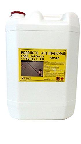Antimancha efecto natural. Protector de materiales. Hidro-oleo repelente. Fácil aplicación. Envase 30 Litros.