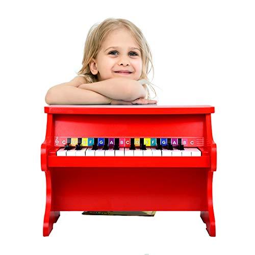 QPPWJ- Musik Klavier Spielzeug, Frühe Bildung Musikinstrument Aufklärung Spielzeug, Analoge Mechanische Klavier, 25 Schlüssel, Geburtstagsgeschenk Für Jungen Und Mädchen