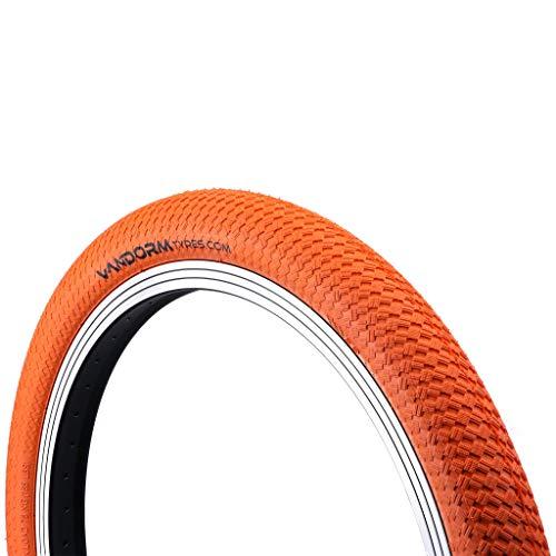 "Vandorm - Ruedas de Colores DrifterR2R para Bicicleta BMX, 20 x 2 Pulgadas, Color Naranja, tamaño 20"" x 2.00"", 500"