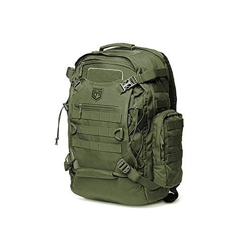 Cannae Pro Gear Phalanx Full Size Duty Helmet Carry Military Backpack Pack, Sage