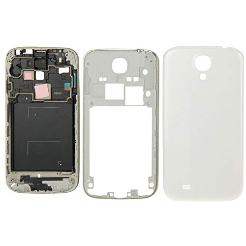 Hnghvh Reemplazo de Cubierta de Placa Frontal de Carcasa Completa for Samsung Galaxy S4 / i337