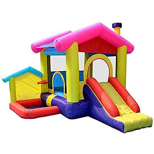 Zjcpow Los Castillos hinchables, el Castillo Inflable for niños, Deslizan los Juguetes for niños, Las Diapositivas inflables, los Grandes Parques de diversiones al Aire Libre Trampolines xuwuhz