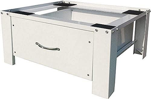 respekta WUGmitSchublade Elevador de lavadora con cajón, Acero