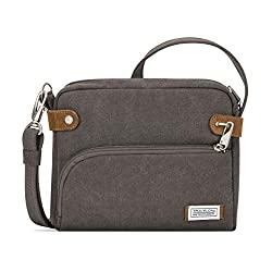 Travelon Anti-theft Heritage Crossbody Bag, best anti-theft handbags, theft-proof handbags, anti-theft luggage theft-proof luggage, anti-theft bags, theft-proof bags, travel safety, travel security