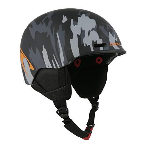 Indigo O'Neill Ski-Helm Pro Camou | Camouflage Schwarz | Ski & Snowboard Helm (Camouflage Schwarz, M | 54-58)