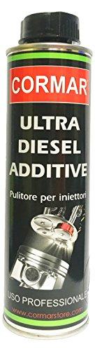 CORMAR Additivo Diesel Pulizia Sistema di Alimentazione Ultra Diesel ADDITIVE