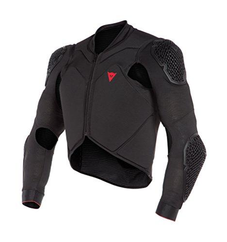 Dainese Men's Rhyolite Safety Jacket Lite Protektorenjacke MTB, Schwarz, L