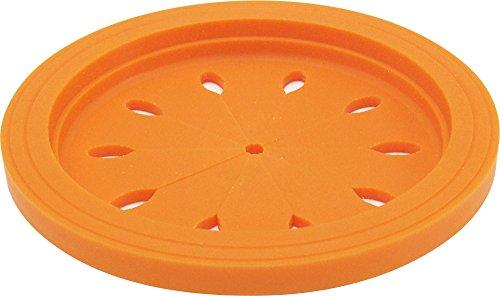 『和平フレイズ キッチン水廻り用品 排水口カバー スキッとシリコーン。 15cm オレンジ SR-4856』の1枚目の画像