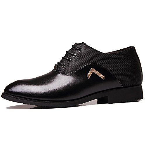ZhaoDao158 Men Height Increasing Business Leather Shoes