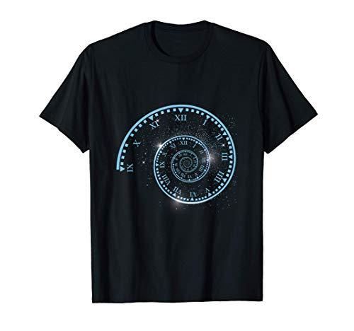 Viajar Tiempo Viajero Viajar Universo Reloj Espacio Regalo Camiseta