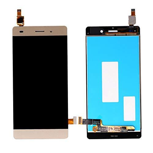 HAOHAOCHENG-WL Reemplazo Compatible Terminan la exhibición Completa del LCD con Pantalla táctil LCD for Huawei P8 Lite con digitalizador Asamblea (Color : Gold, Size : 5.0