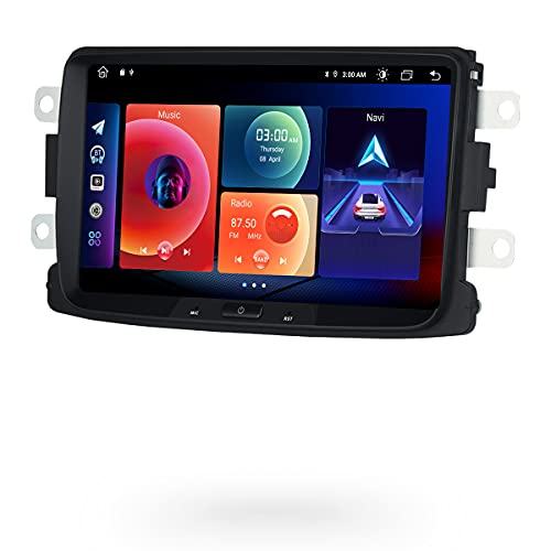 Roadanvi per Renault Universal Dacia Sandero Duster Captur Lada Xray 2 Logan 2 2012-2019 Car Stereo Carplay Android Auto Navigazione GPS