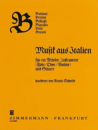 ABC-Reihe: B: Musik aus Italien Barsanti, Bertoni, Besseghi, Bigalgia, Boni, Brandi. Violine (Flöte/Oboe) und Gitarre.