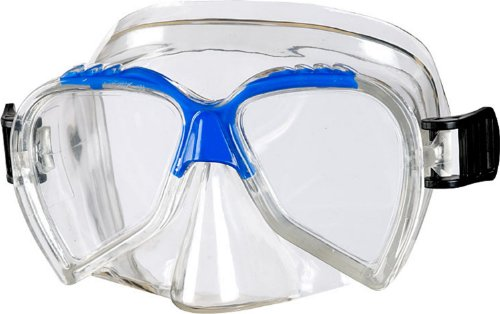 Beco Unisex Jugend Ari Tauchermaske, blau, One Size