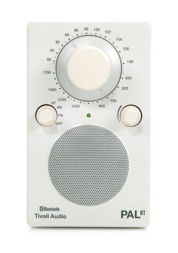 Tivoli PAL BT Tragbares Bluetooth UKW-/MW-Radio in Weiß