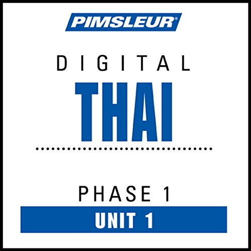 Thai Phase 1, Unit 01 audiobook cover art