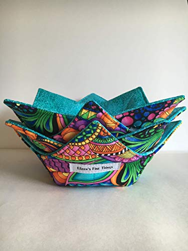 Microwavable Bowl Cozy - SET OF 4